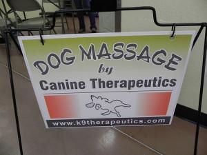 Dog Massage by Canine Therapeutics