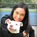 寺口麻穂さんと愛犬のジュリエット