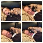 米アカデミー受賞俳優☆ケビン・スペイシー愛護団体から子犬を譲渡、ボストンに敬意を表し「ボストン」と名付ける